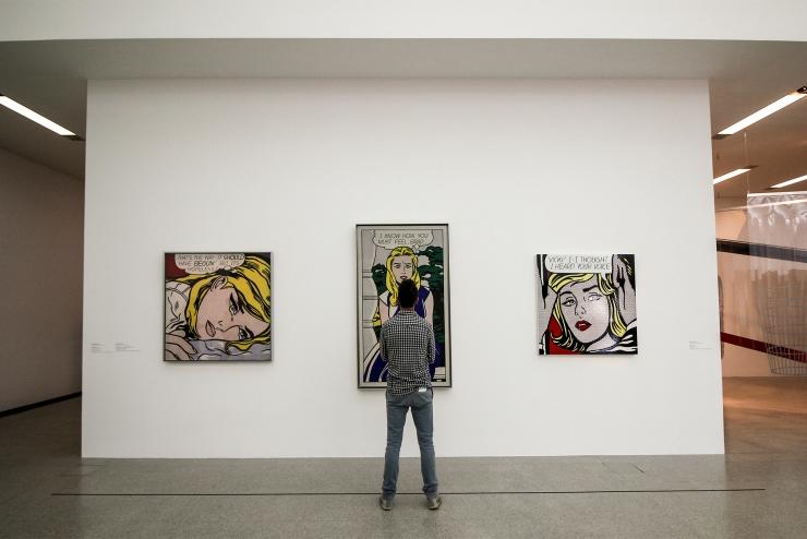 Lichtenstein originals at the MUMOK, Vienna | How Far From Home